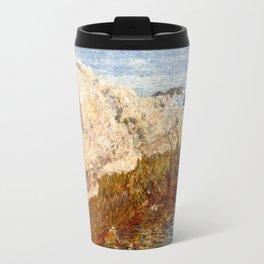 Cliff Rock, Appledore, 1903 - by Childe Hassam Travel Mug