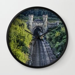 Clayton North Portal Wall Clock