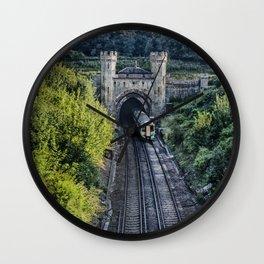 Clayton North Portal Wall Clock