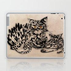 3 cats esoflowizm art Laptop & iPad Skin