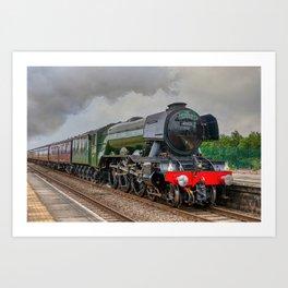 The Flying Scotsman Art Print