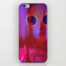 Electric City Girl iPhone Skin