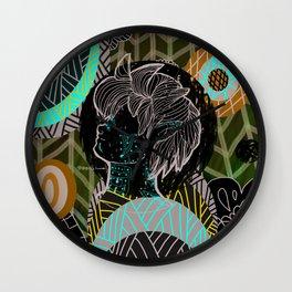 Men's Tribe Wall Clock