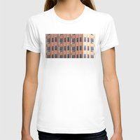 building T-shirts featuring Building to Building: Church by theartistmakena