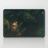 fishing iPad Cases featuring Fishing by sandara
