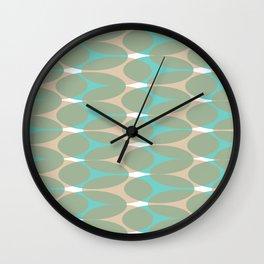 Soft pattern Wall Clock