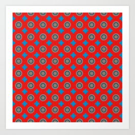Vitality Pattern Art Print