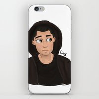 zayn iPhone & iPod Skins featuring Zayn  by Gaby Breadwater