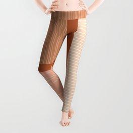Shiba in Terracotta Leggings