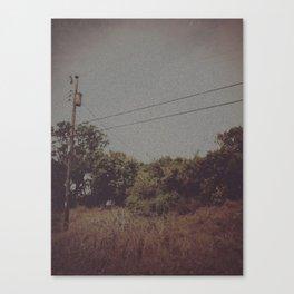 Empty Silences Canvas Print