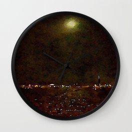 One In The Morning Wall Clock