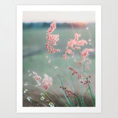 Dance with Air Art Print