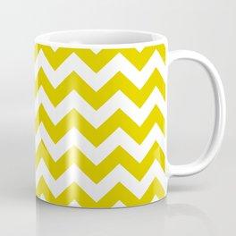 Golden Poppy Safari Chevron Coffee Mug