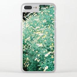 petites fleurs Clear iPhone Case