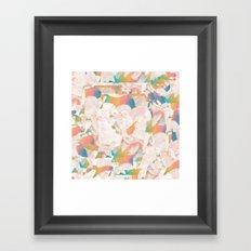 Flower Pop Framed Art Print