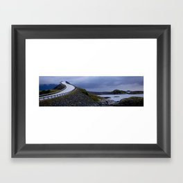Atlantic Road's Framed Art Print