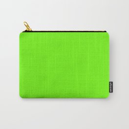Bright Green Color Carry-All Pouch