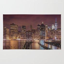 NEW YORK CITY Nightly Impressions   Panoramic Rug