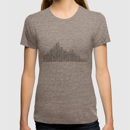 Photography Terms Word Cloud Histogram T-shirt