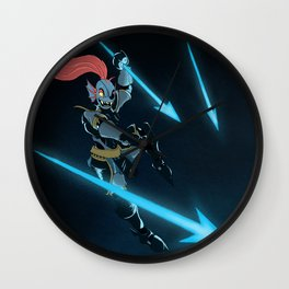 Undyne Wall Clock