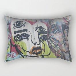 Footscray Grafitti Rectangular Pillow