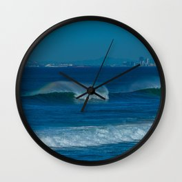 Surf and the City Wall Clock