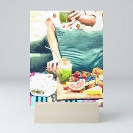 Picnic Day Mini Art Print