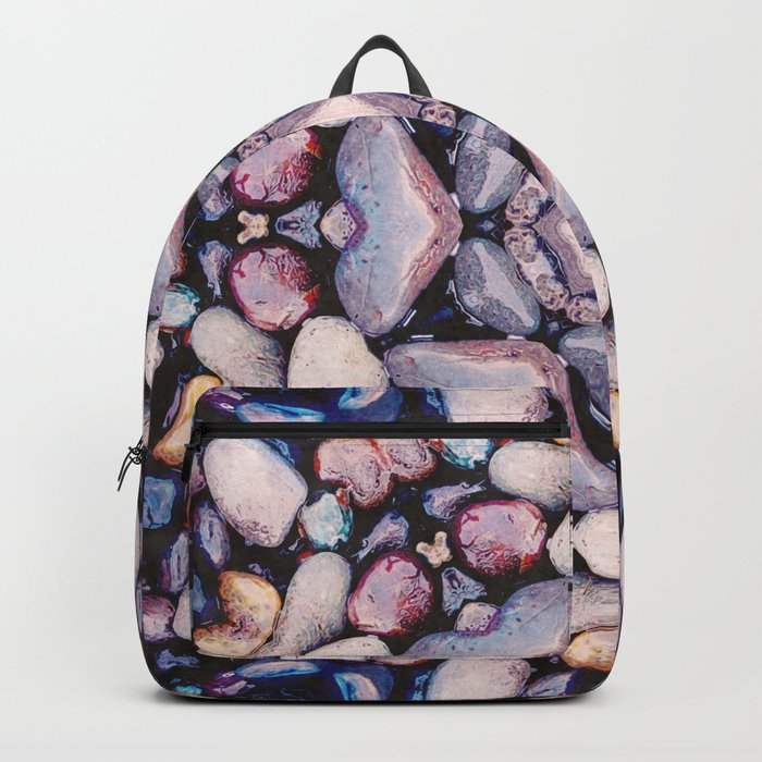 Colorful Circle of Stones Backpack