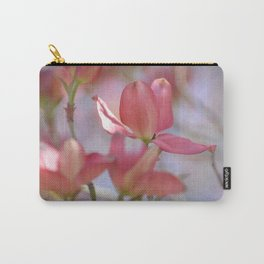 Pink Dogwood Tree Floral Carry-All Pouch