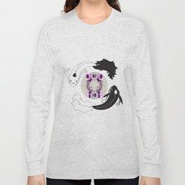 Yin and Yang (with ornamentation) Long Sleeve T-shirt