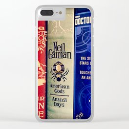 Library of Fun Clear iPhone Case