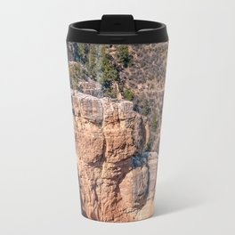Angel's Window Rock on Bright Angel Trail in Grand Canyon Travel Mug