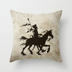 Don Quixote - Digital Work Throw Pillow