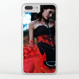 Elizabeth Bathory - Victorian Gothic style Clear iPhone Case