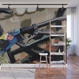 Bike Gear - Mountain-Bike Glove Wall Mural