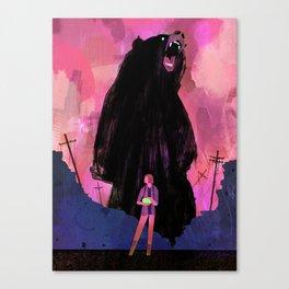 Borne Canvas Print
