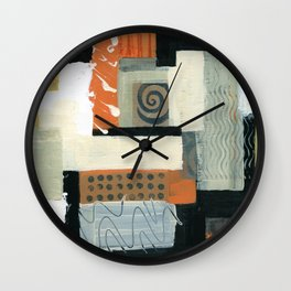 Urban Quilt Wall Clock