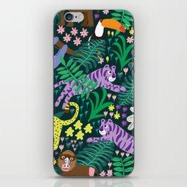 jungle madness iPhone Skin