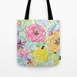 Floral Dreamland Tote Bag