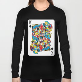 King Of Spades Long Sleeve T-shirt