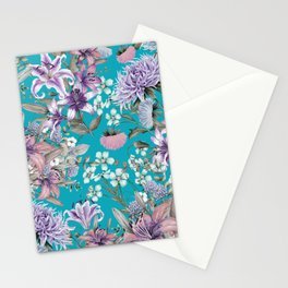 FLORAL GARDEN 10 Stationery Cards