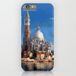 Hy-Brasil Island iPhone Case