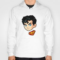 superman Hoodies featuring Superman by studio1six