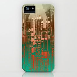 Over the Green / Density Series iPhone Case
