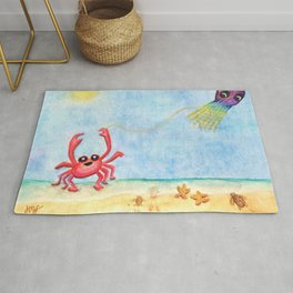 The E-Sea Life - Watercolor Rug