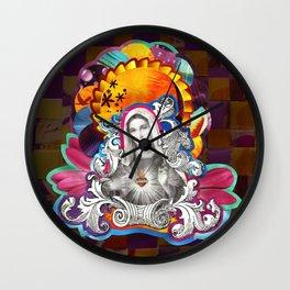 Imaculado Coração de Maria (Immaculate Heart)  Wall Clock