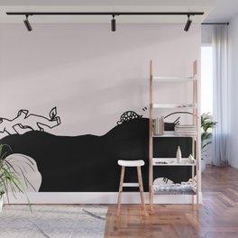 Listen and sleep - Sakura Wall Mural