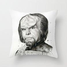 Star Trek: Worf Throw Pillow