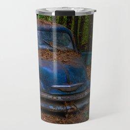 Old Blue Truck Travel Mug