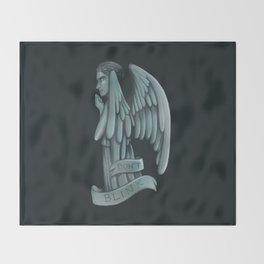 Weeping Angel Throw Blanket